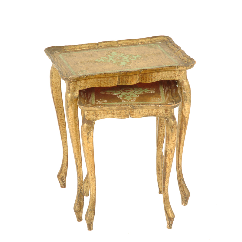 Truman Gold Nesting Tables (pair)