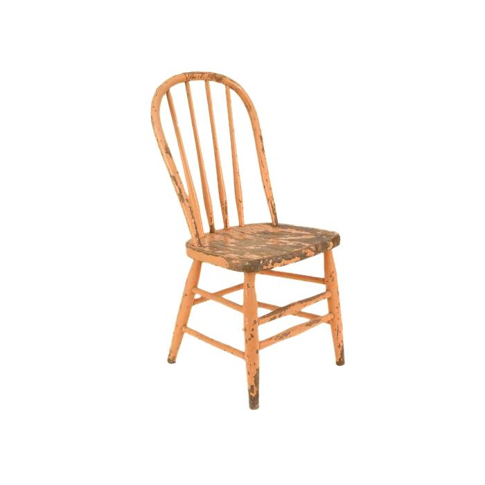 Sammie Orange Child's Chair