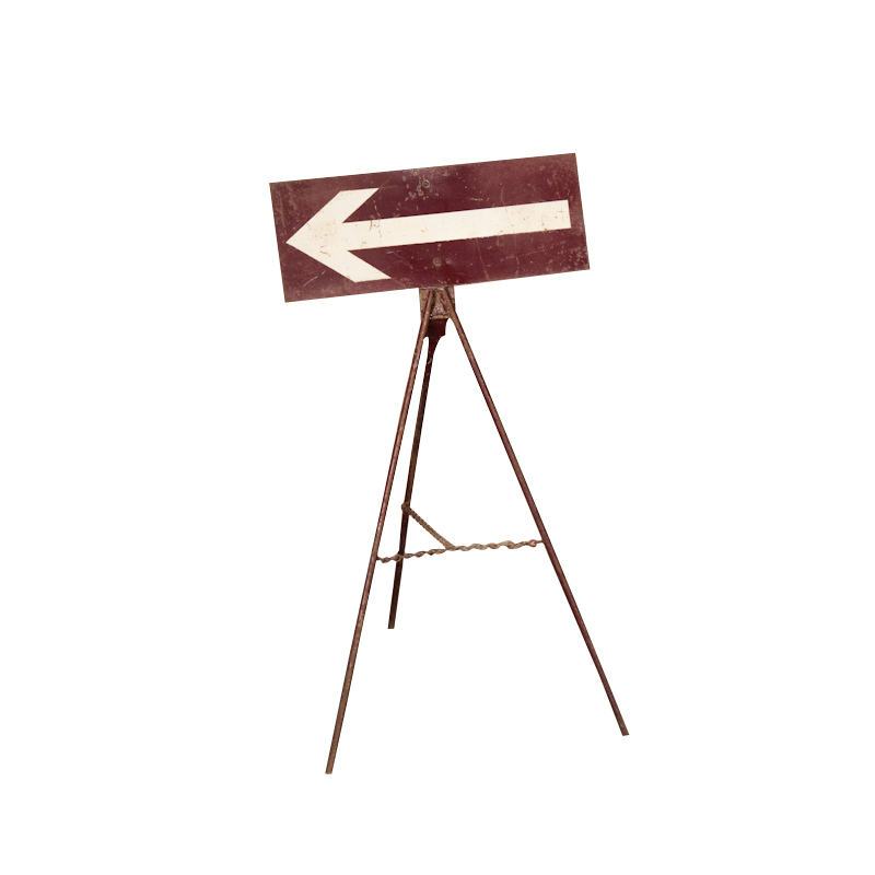 Jim Arrow Sign