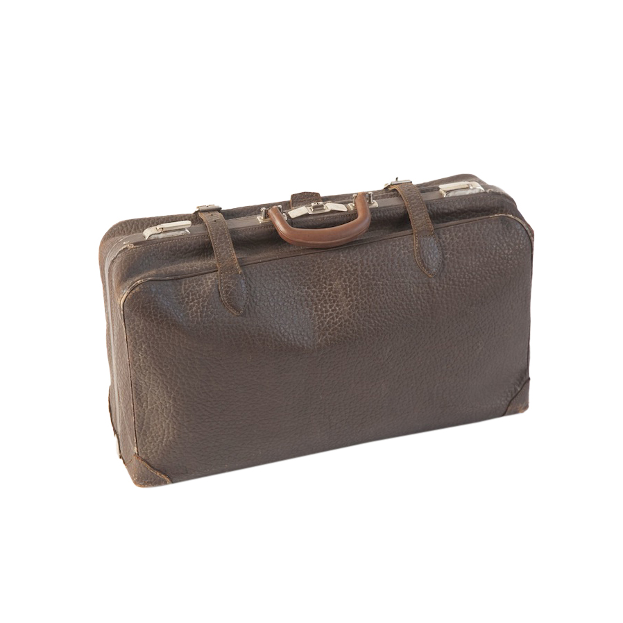 Addison Leather Suitcase