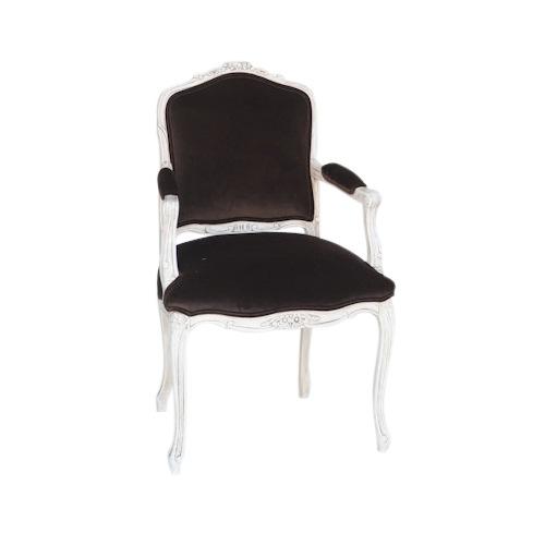 Hearst Brown Velvet Chairs