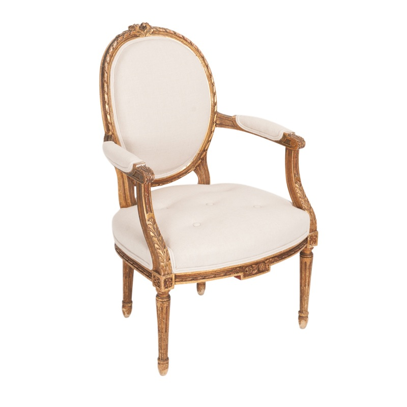 Louisa Gold Chairs