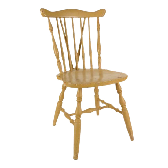 Hughes Yellow Chair
