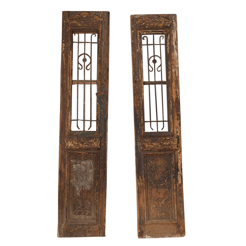 Bannerton Wood Doors (pair)