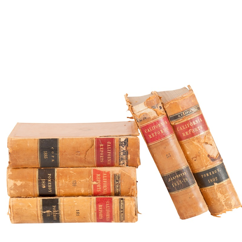 Darrow Leather Books (set of 5)