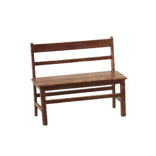 Oliver Red Child's Benches