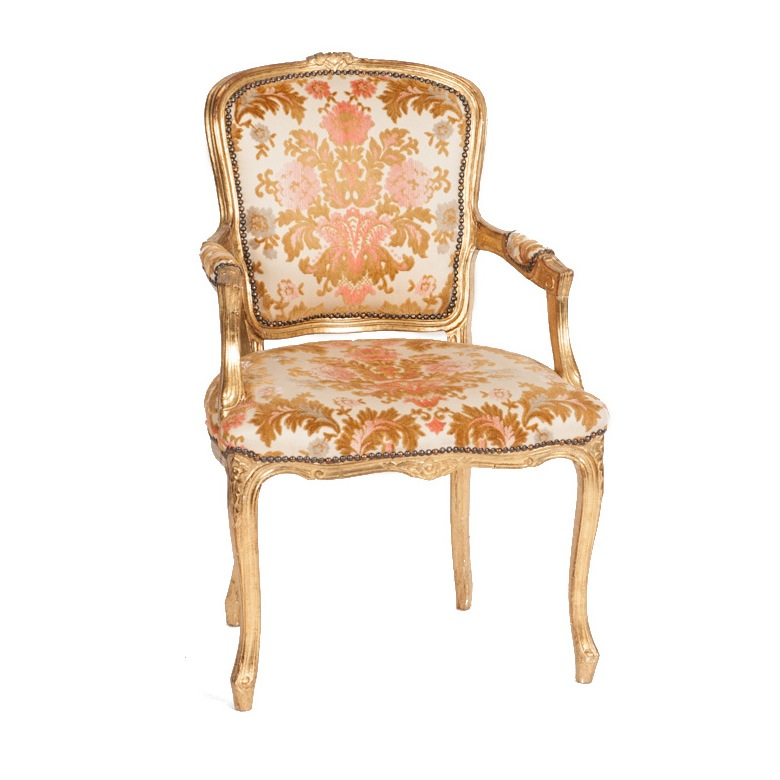 Floretta Gold Chair