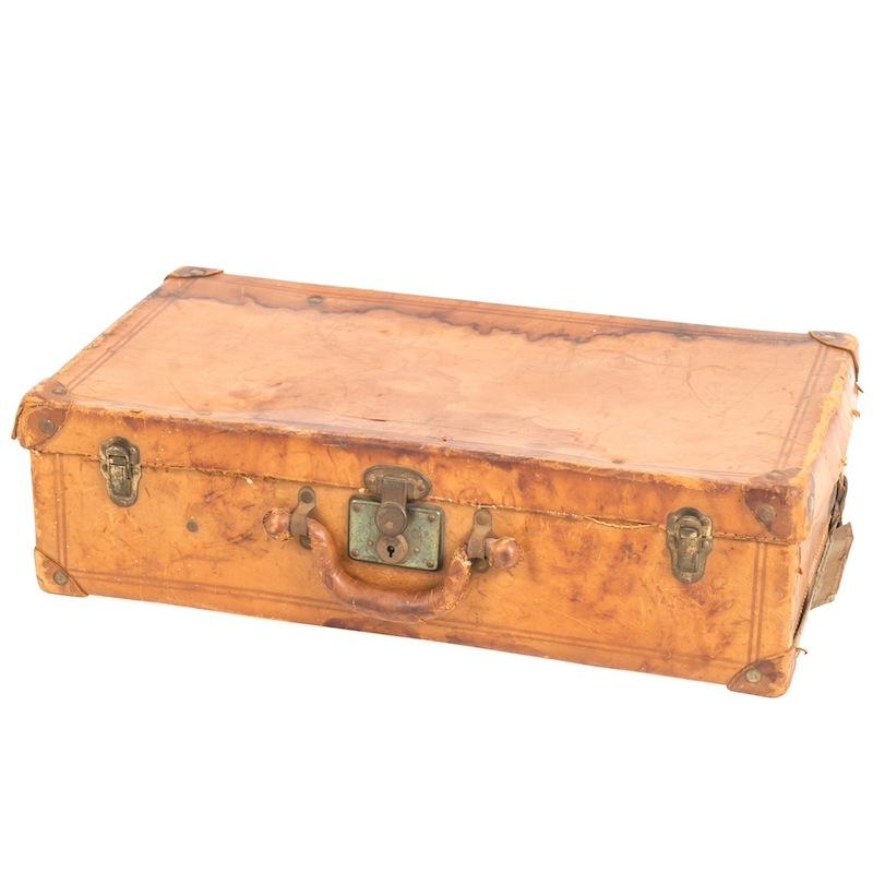 Sam Leather Suitcase