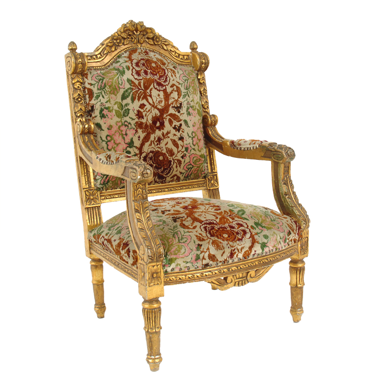 Charles Gold Chairs