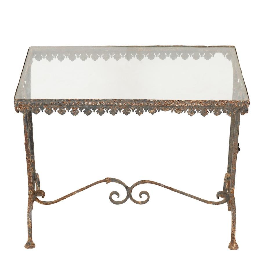 Buckingham Glass Table