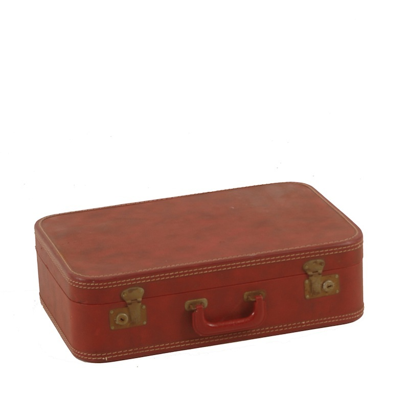 Booker Red Suitcase