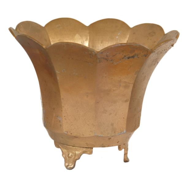 Pippa Brass Pots