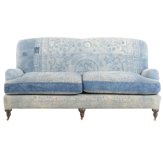 Waterford Indigo Couch