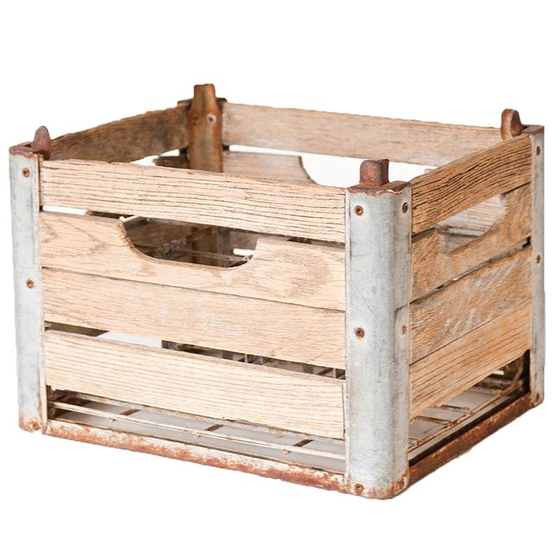 Jones Dairy Crates