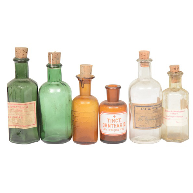 Caldwell Apothecary Jars (set of 5)