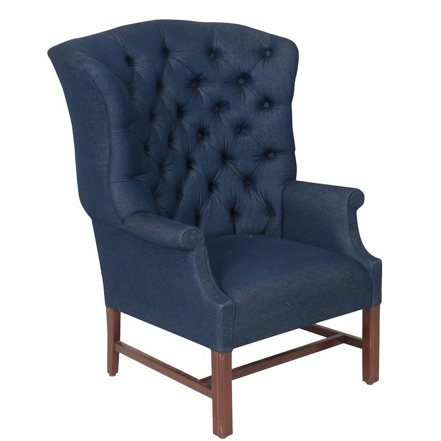 Chesie Blue Chairs