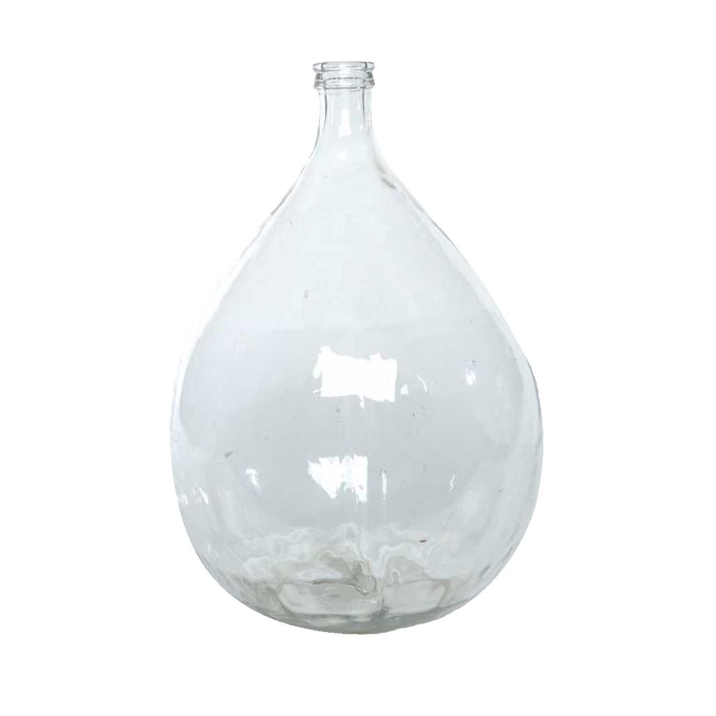 Lucque Clear Glass Demijohn