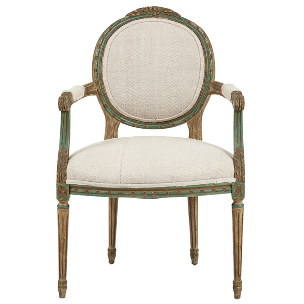 Brayton Cream Armchair