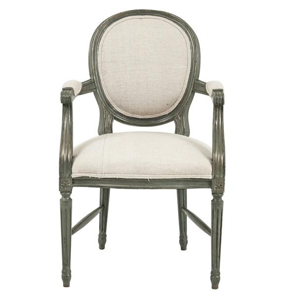Gannets Cream Armchairs