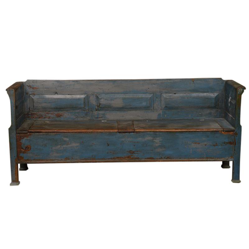 Danube Blue Bench