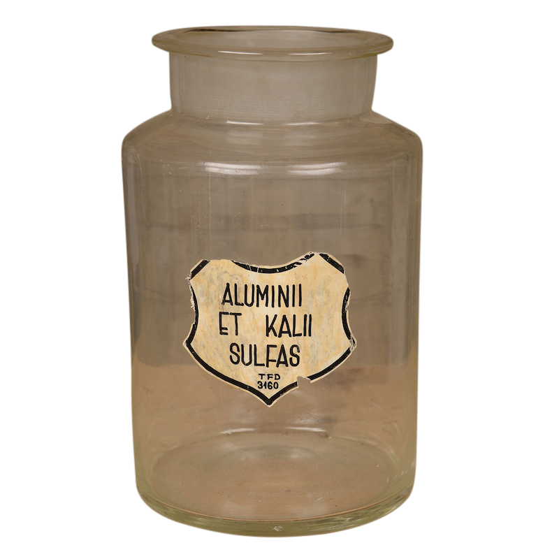 Aluminii Glass Jar