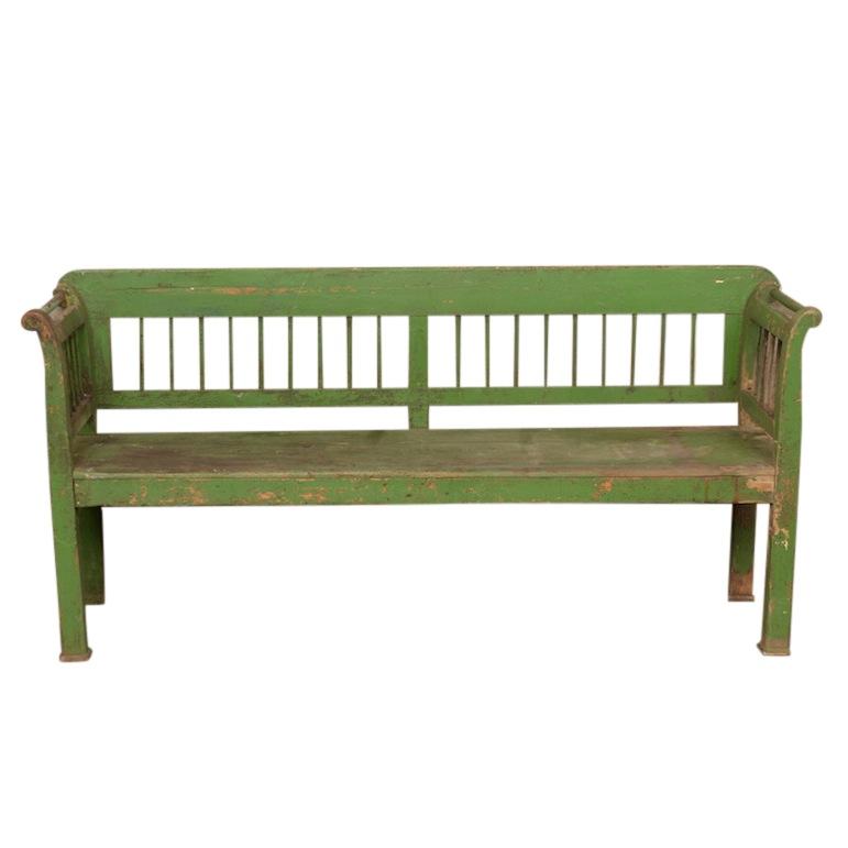 Asteria Green Bench