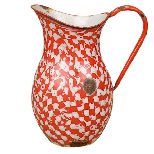 Devo Enamel Pitcher