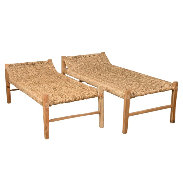 Solaires Woven Benches