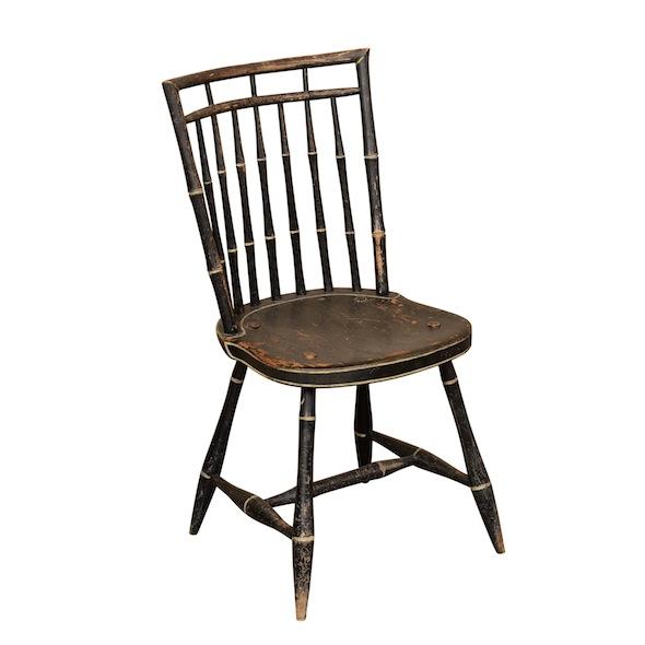 Geisha Black Chair