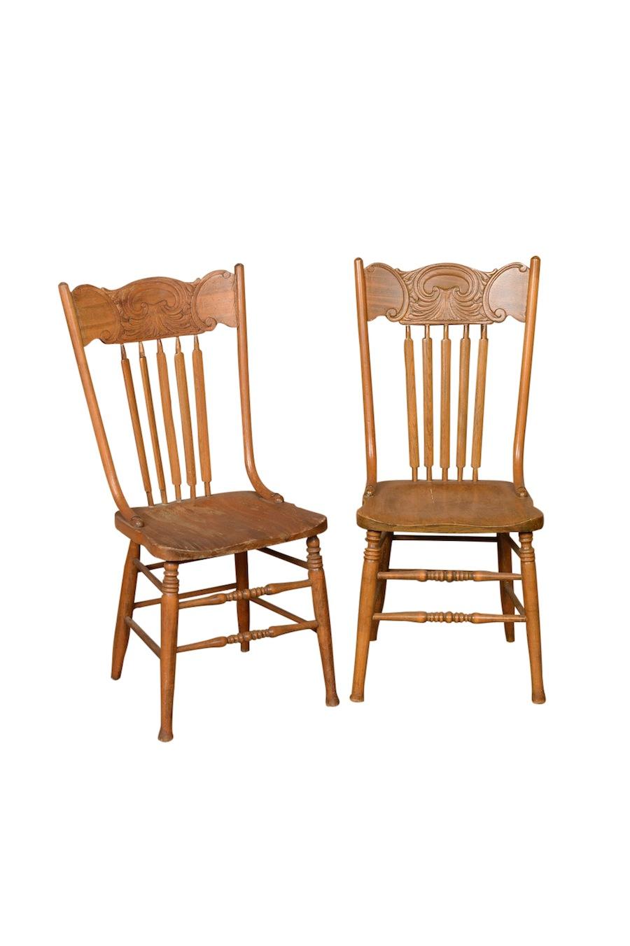 Stratler dining chairs found vintage rentals