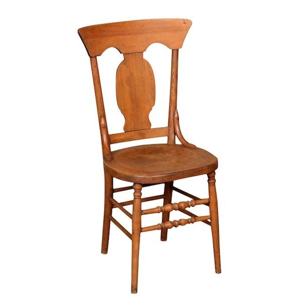 Strata wooden chair