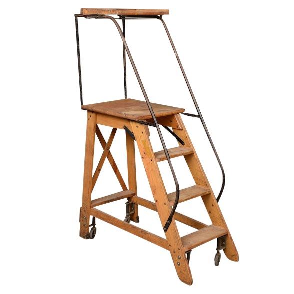 Lawner Library Ladder