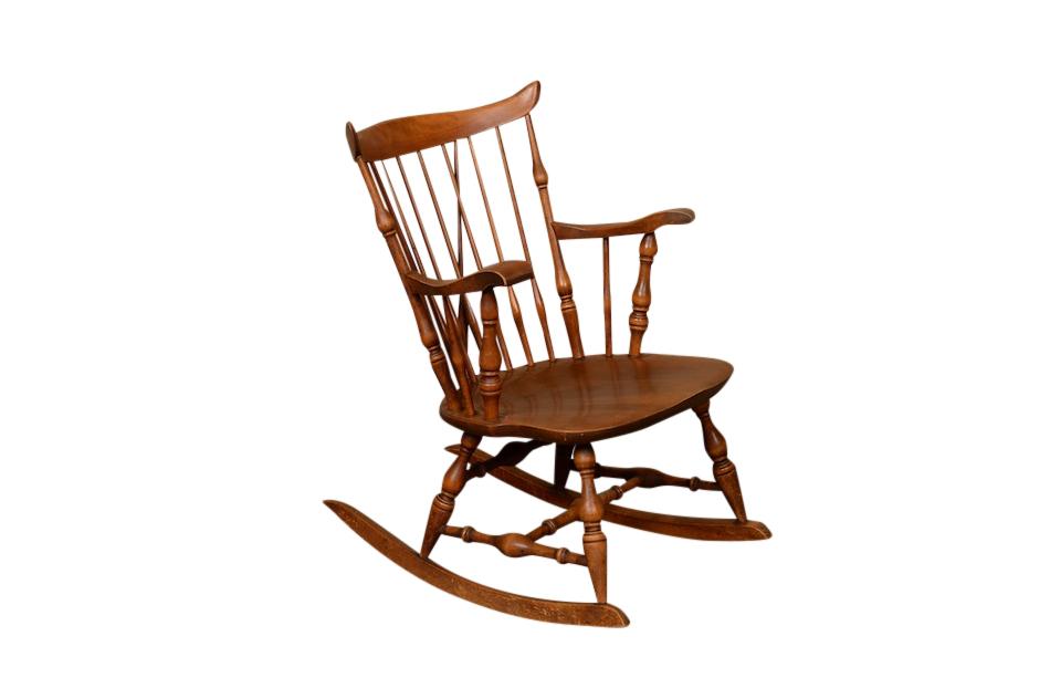 Botros Wooden Rocking Chair