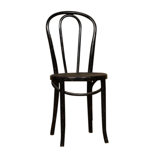 Dema Black Bentwood Chairs