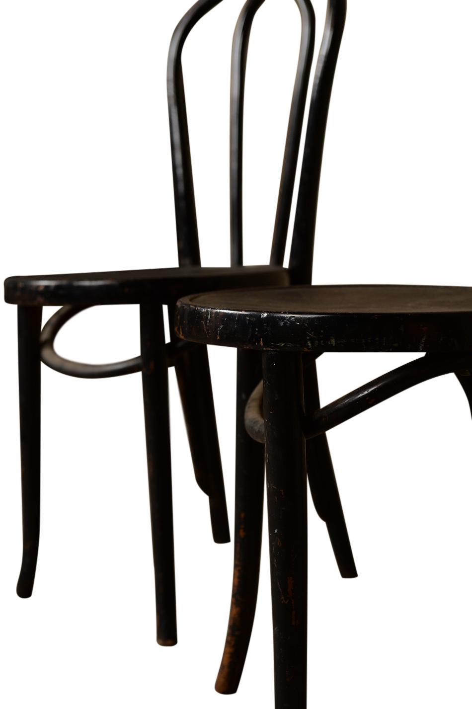 Dema Black Bentwood Chairs Found Rentals