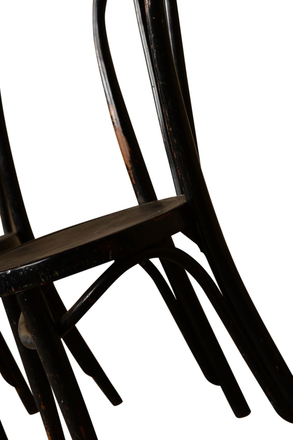 Dema Black Bentwood Chair Found Vintage Rentals