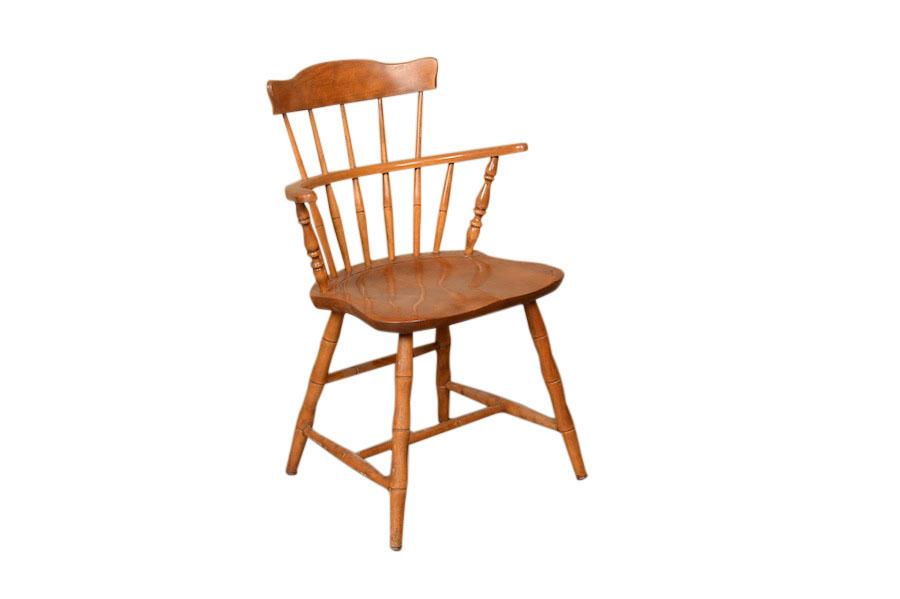 Jaunie Wooden Armchairs