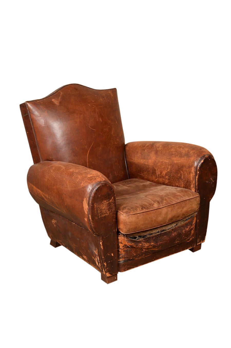 Maram Leather Armchair
