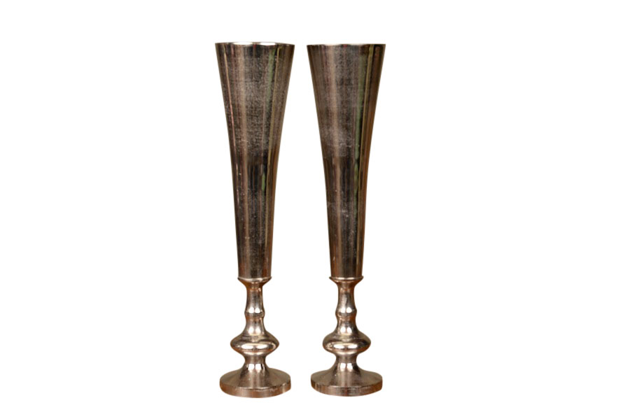 Granville Silver Vases (pair)
