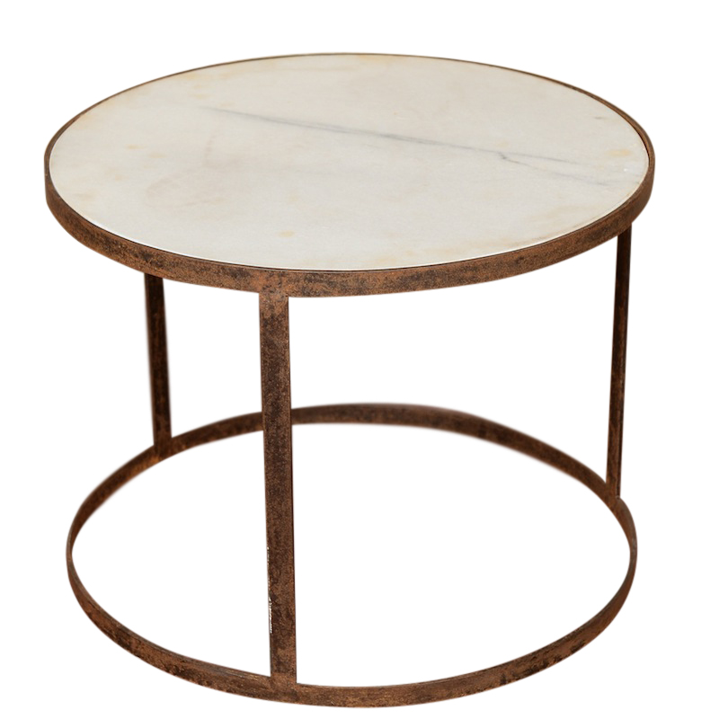 Canopus Marble Side Tables