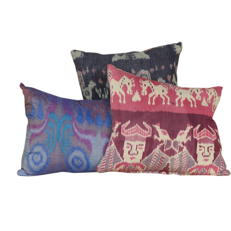 Kaite Ikat Pillows (set of 3)