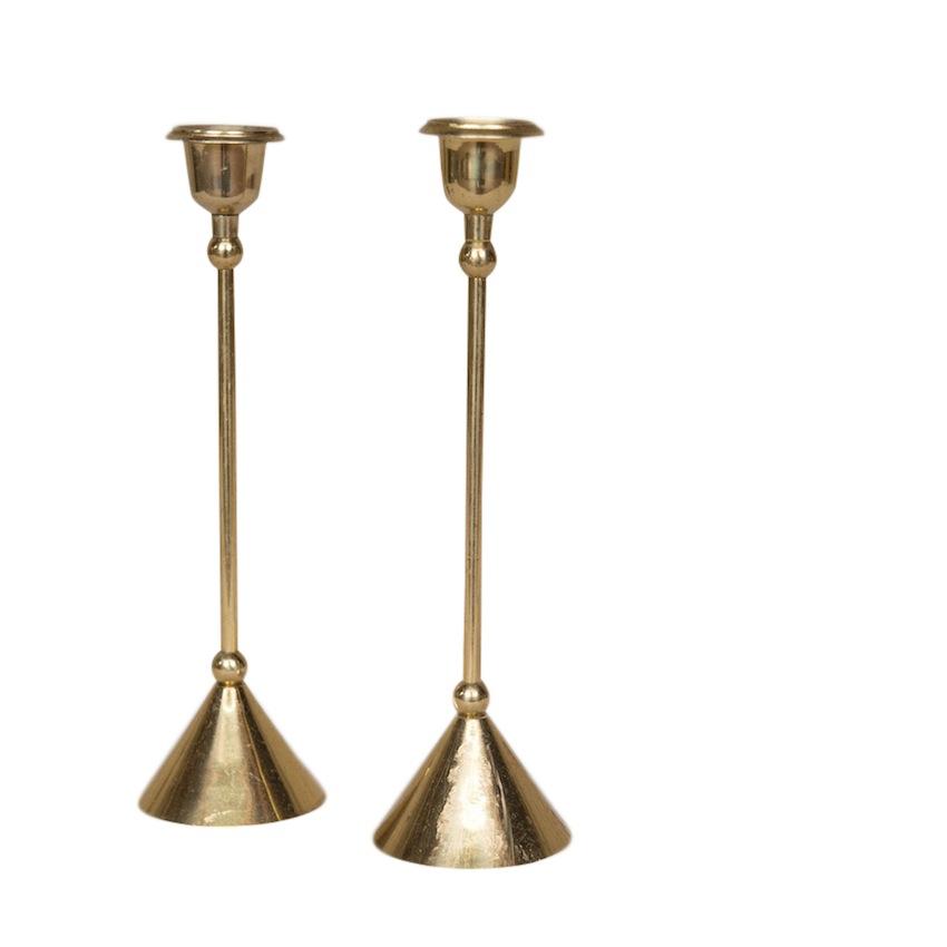 Mont Brass Candlesticks (pair)