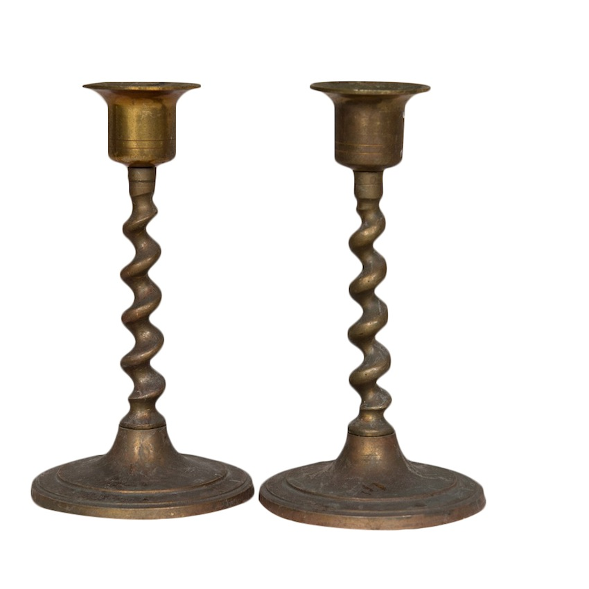 Quil Candlesticks (pair)