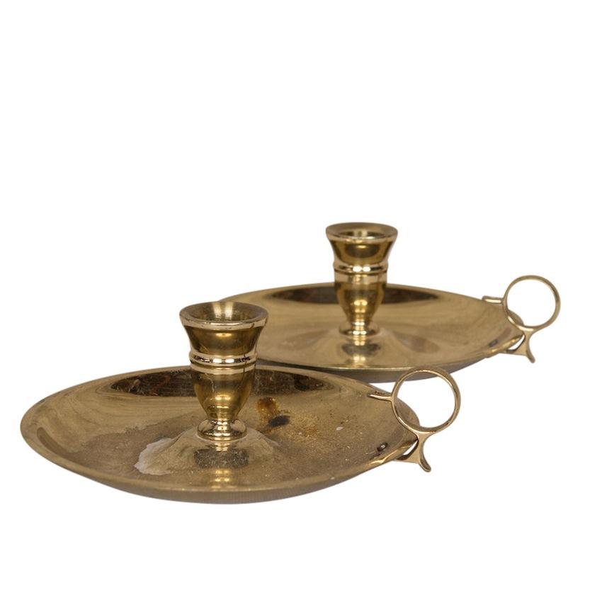 Talgi Brass Candleholders (pair)