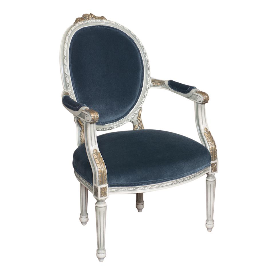 Atlantis Blue Armchair
