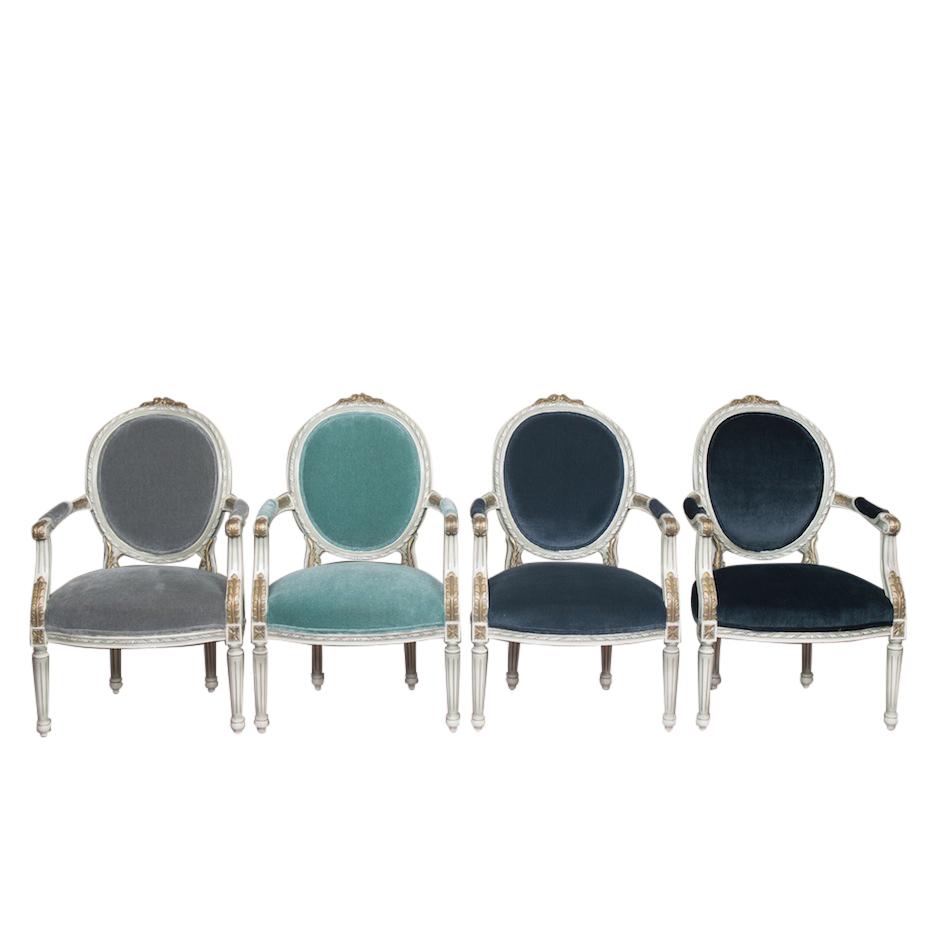 Atlantis Light Blue Armchair