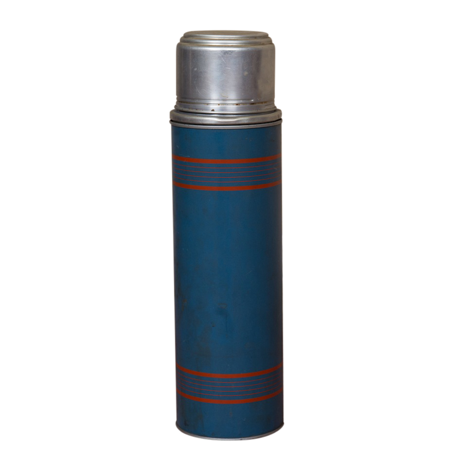 McCarty Blue Thermos