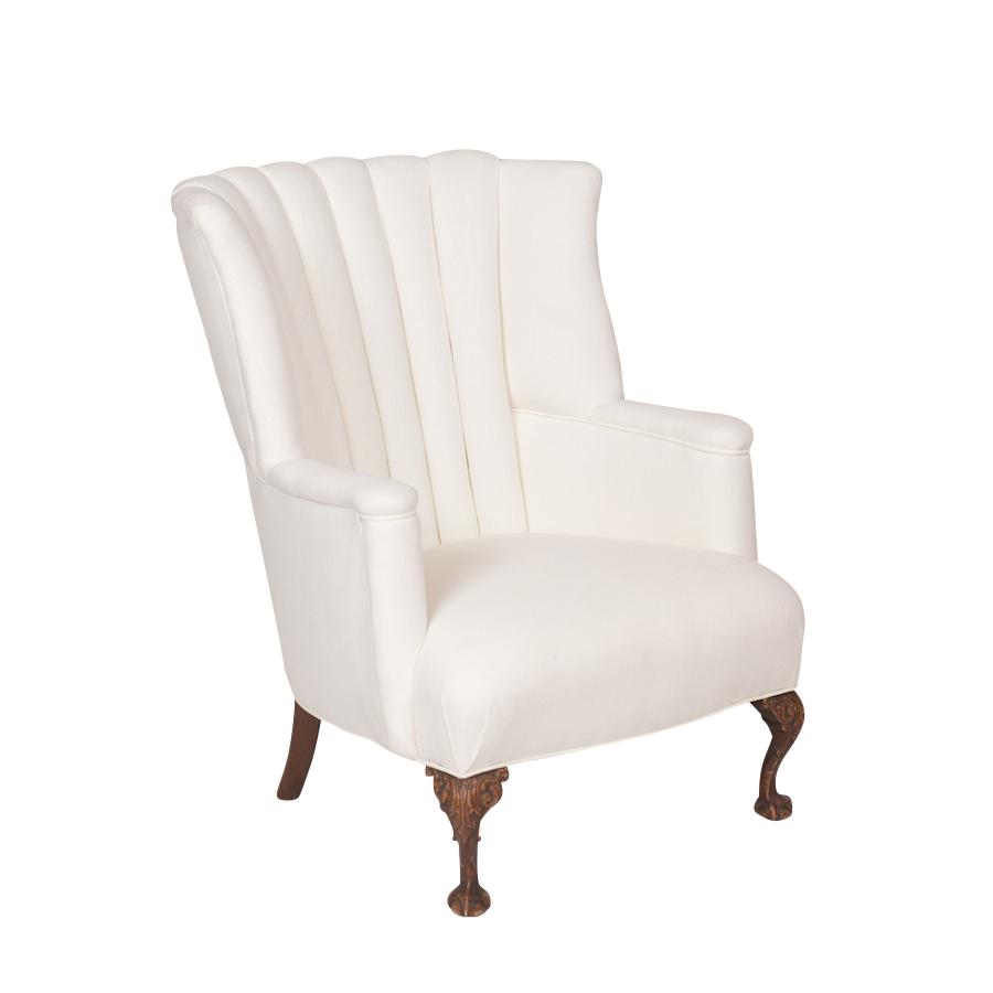 Commodore Cream Armchair