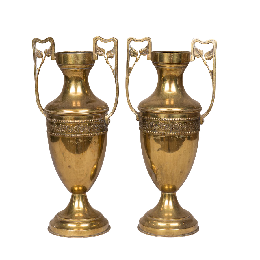 Garian Gold Vases (pair)