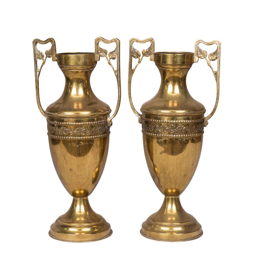Garian Gold Vases (pair)